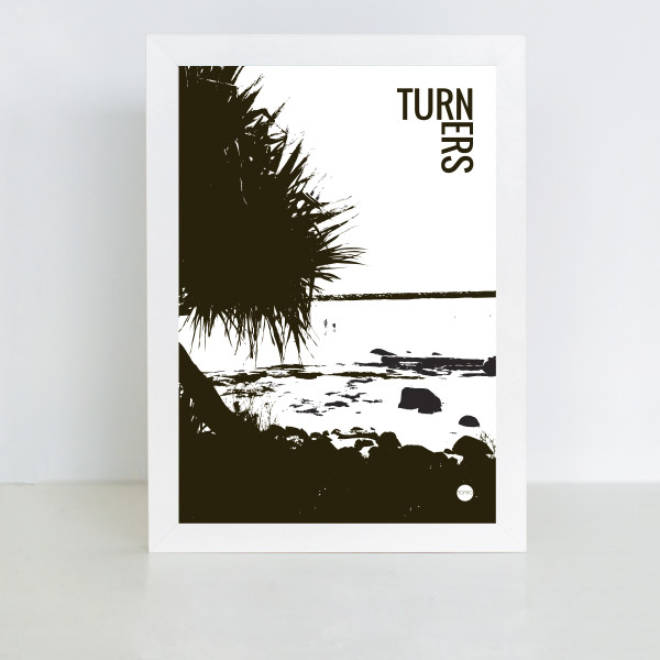 Scandinavian prints | Yamba Scandi black and white prints | Turners