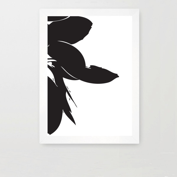 Scandinavian prints | Yamba Scandi black and white prints | The Bay tree #1
