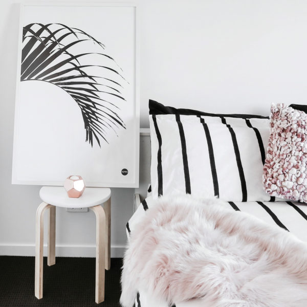 Scandinavian prints Yamba Scandi black and white prints | Pat's palm